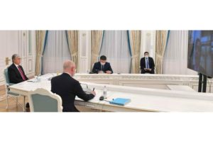 Kazakh President, ArcelorMittal CEO have talks