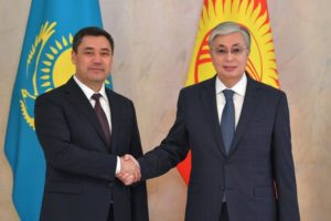 Kassym-Jomart Tokayev, Sadyr Zhaparov hold talks in narrow format