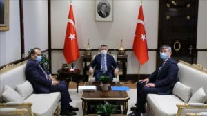 Turkish vice president receives head of Turkic Council