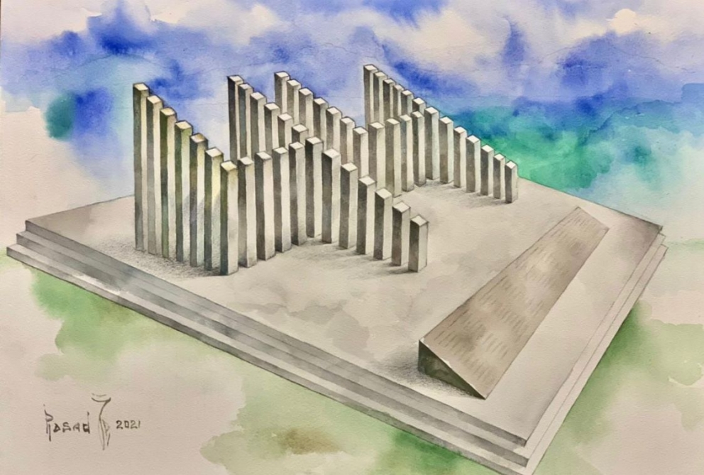 """Monument """"44"""" to be erected in center of Fuzuli city"""