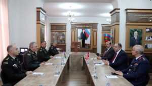 War College of Azerbaijani Armed Forces hosts meeting with administration of Turkish National Defense University